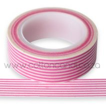 007- Pale Pink Stripe