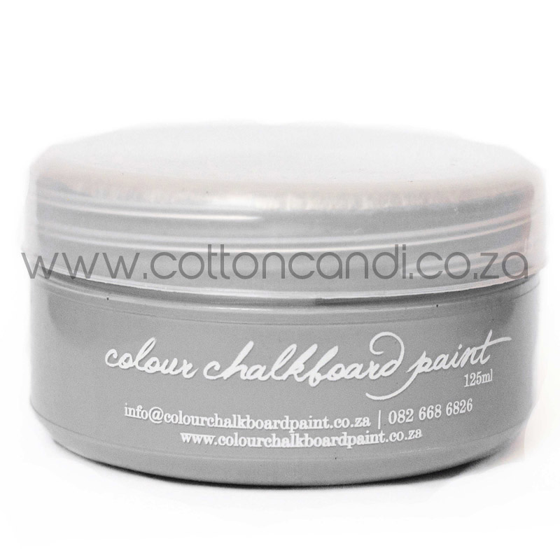 Silver Chalkboard Paint | 125ml