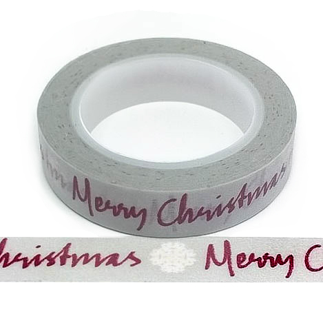412 – Grey With Red Merry Christmas