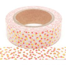 Foil-10 | Gold And Pink Dots