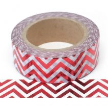 Foil-36| Red Chevron