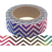 Foil-54 | Rainbow Chevron