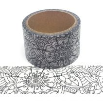 Colouring Tape | Floral 2