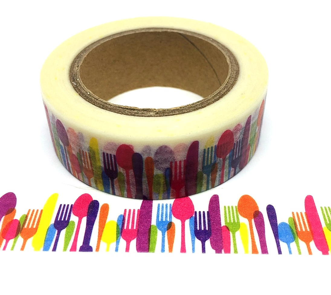 516-Colourful Cutlery