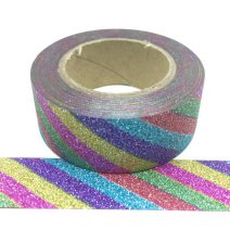 Glitter-20 | Rainbow Diagonal (bright)