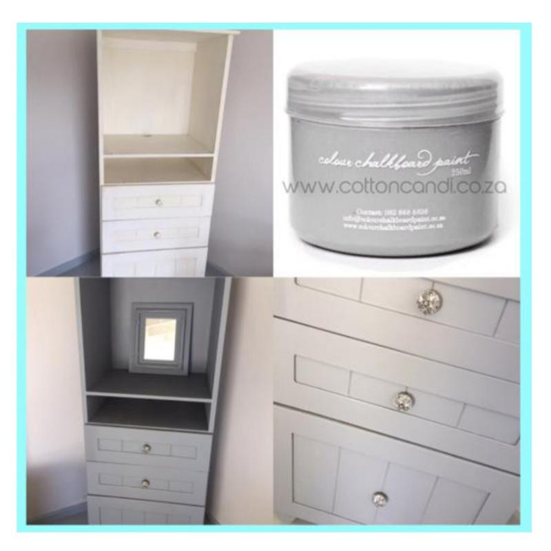 Cupboard Revamp Using Chalk Paint