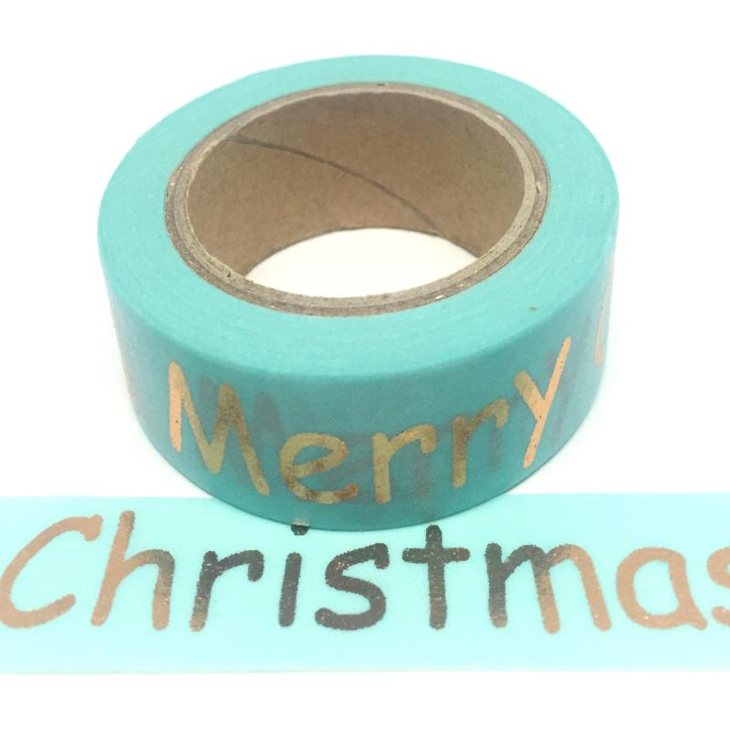 Gold Foil Merry Christmas
