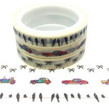 Birds Car And Bows Set