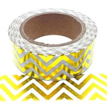 Foil-105 Yellow Gold Chevron